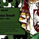 24 godine od smrti majora Milana Tepića