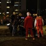 Teška nasreća u Sarajevu: Vatrogasci pokušavaju da izvuku vozača