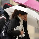 Oblačno i hladno, sa kišom mjestimično