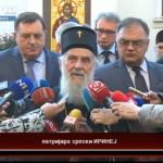 Održan sastanak patrijarha Irineja sa zvaničnicima iz Srpske (VIDEO)