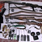 Policija pronašla oružje i radio-stanice