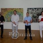 """U Muzeju """"Kozare"""" otvorena izložba slika Podgoričanina Darka Đurovića (FOTO)"""