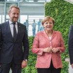 Predsjedništvo BiH sa Angelom Merkel (VIDEO)