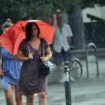 Danas pretežno oblačno, kiša mjestimično