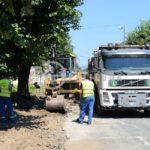 Počela rekonstrukcija ulice Vuka Karadžića (FOTO)