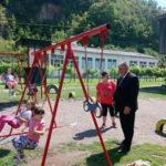 Otvoreno dječije igralište u Ljubiji