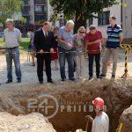 Pavić zadovoljan radovima na rekonstrukciji ulice Vuka Karadžića