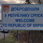 """""""Dobrodošli u Republiku Srpsku"""" ostaje na graničnim prelazima"""