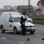 Povrijeđena žena u saobraćajnoj nesreći