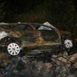 """""""Reno kilo"""" sleteo s ceste kod Bileće, nakon toga u potpunosti izgoreo"""