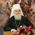 Patrijarh Irinej: Živite u ljubavi Božića