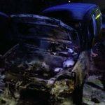 Izgorjelo vozilo u trebinjskom naselju Tina
