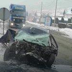 """Stravičan sudar kod Gračanice - Tijelo poginulog vozača ostalo zarobljeno u olupini """"audija"""""""