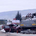 U teškoj nesreći kod Travnika poginuo vozač Opel Astre