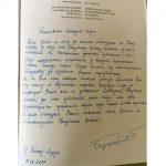 Borenović poslao Incku knjigu o zločinima nad Srbima u NDH (FOTO)