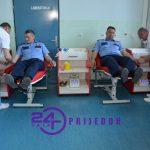 PU Prijedor - Akcija dobrovoljnog darivanja krvi povodom Dana policije
