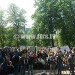 Mirno protestno okupljanje sindikalaca u Banjaluci (FOTO/VIDEO)
