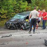 Sudar auta i kamiona, teško povrijeđen muškarac