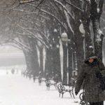 Do kraja sedmice oblačno sa snijegom i kišom, temperature do -17 stepeni