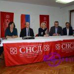 Cvijanovićeva pohvalila rad Gradskog odbora SNSD-a (FOTO)