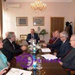 Gradonačelnik organizovao prijem za delegacije SUBNOR-a i penzionera