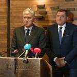 Dodik: Saradnja sa Čovićem i HDZ-om da, ali NATO ne