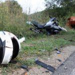 U sudaru sa kamionom teško povrijeđen motociklista