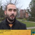 Mladi Prijedorčanin, harmonikaš, Aleksandar Drinić odlikovan povodom Dana Republike Srpske (VIDEO)