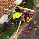 SAD: Helikopter se zabio u kuću, troje mrtvih (VIDEO)