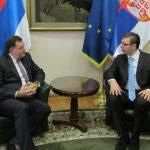 Sutra u Beogradu sastanak Vučića i Dodika