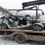 Nesreća na putu Novi Pazar Raška, troje poginulih (VIDEO)