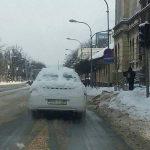 DOBRO SE SAKRIO Snježni policijski automobil izazvao LAVINU KOMENTARA na društvenim mrežama