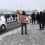 Veterani blokirali saobraćajnice (FOTO)