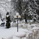 Oblačno i hladno sa snijegom