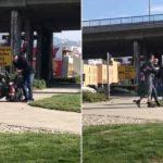 Dva Splićanina se divljački potukla na sred ulice (VIDEO)