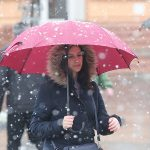U petak oblačno sa snijegom, popodne razvedravanje (VIDEO)