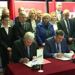 POTPISAN KOALICIONI SPORAZUM SNSD, DNS, SP- Dodik: Garantujem veliku pobjedu naše koalicije (VIDEO)