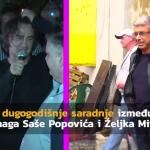 IZDAJA Zbog OVOGA su Željko Mitrović i Saša Popović godinama na RATNOJ NOZI (VIDEO)