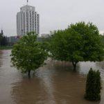 U porastu vodostaju Sane, Une i Save, poplavljen centar Prijedora