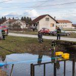 Prijedor: Vatrogasci upotrijebili novu pumpu (FOTO)