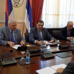 Potpisivanje Sporazuma o koalicionoj saradnji SNSD, DNS i SP