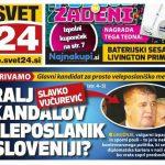 Slovenački mediji- Slavko Vučurević kralj skandala (FOTO)