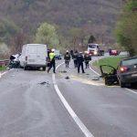 Jedna osoba poginula u sudaru četiri vozila na M-17 u Vranduku