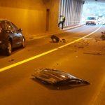 Četiri osobe povrijeđene u nesreći u tunelu kod Vogošćanske petlje