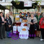 Prijedor: Na Malom trgu proslavljen najveći hrišćanski praznik (VIDEO)