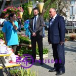 """Gradonačelnik Đaković sa izlagačima na """"Danima cvijeća"""" (FOTO)"""