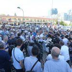"""Okupljanju """"Pravda za Davida"""" prisustvovao i predsjednik Srpske (VIDEO)"""