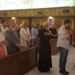 Cvijanovićeva u Feniksu na liturgiji u Crkvi Svetog Save (FOTO)