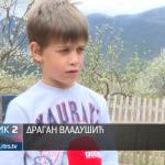 Priča o malom Draganu koji do škole pješači kilometrima (FOTO i VIDEO)