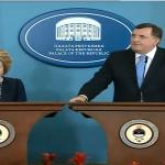 Dodik: Srpska ponosna na dobre odnose sa Rusijom; Matvijenko: Saradnja izuzetna